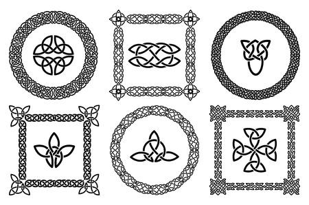 ancient ireland celtic cross: Celtic knots frames