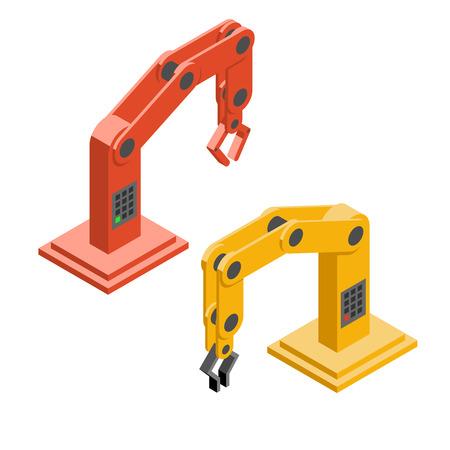 robot: Robot manos. Brazos rob�ticos industriales