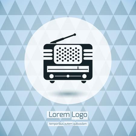 라디오 아이콘 로고