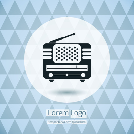 Radio Icon Logo