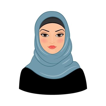 Arabic muslim woman
