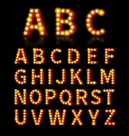 전구 글꼴