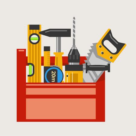 toolbox: Toolbox vector illustration
