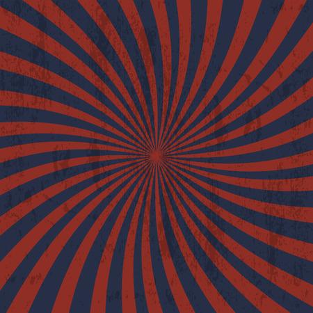 retro backgrounds: Retro grunge background with rays