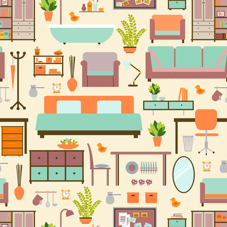home furniture: House furniture pattern