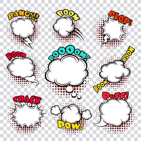 cómico: Discurso cómico burbujas