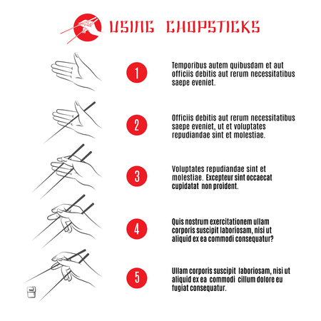 finger fish: How to use chopsticks instruction