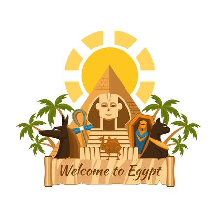 egypt: Egypt label