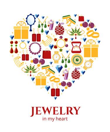 ornament  jewellery: Jewelry heart shape