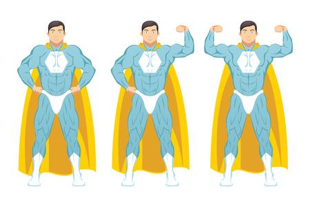 superpower: Super Hero Illustration
