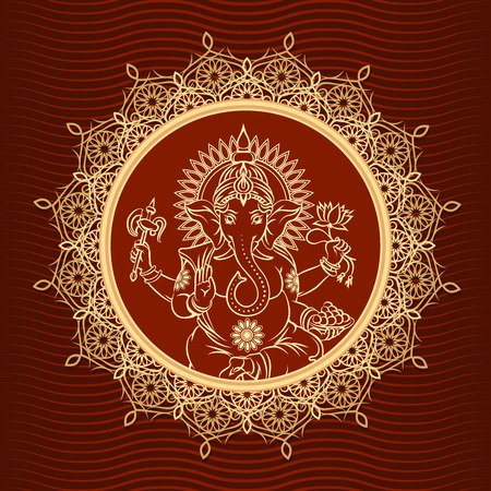 Lord Ganesha zonnestraal