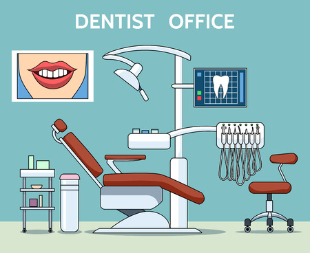 Dentist office Vectores