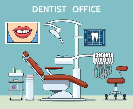Dentist office Illustration