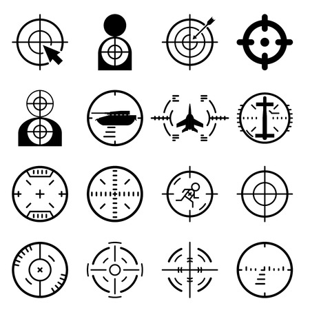 Vector target icons Vector
