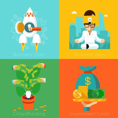 fondos negocios: Creaci�n de Empresas. Los fondos de inversi�n, Crowdfunding, inicio y conceptos idea