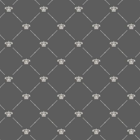 old wallpaper: Royal wallpaper in old style design. Beautiful design, elegant ornament, decorative classic style, vector illustration