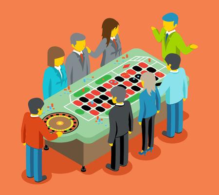 luck: Isometric casino.