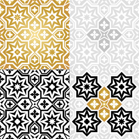 decoration style: Oriental style elements. Ornament symbol,  islamic arabic design, decoration vector illustration