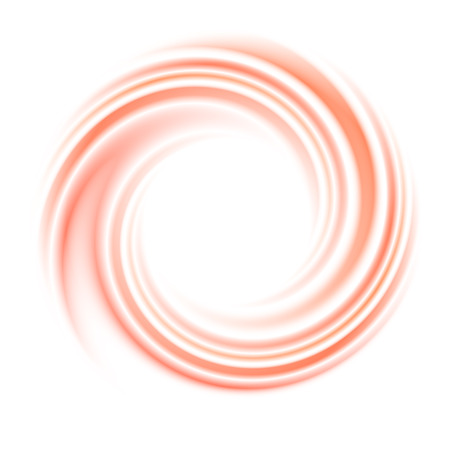 Abstract circle swirl background. Round curve, motion light, space and wave, bright spiral, illustration Imagens - 48212783