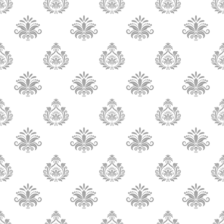 dise�o textil: Wallpaper in baroque style. Background seamless pattern, textile design, decorative illustration Vectores