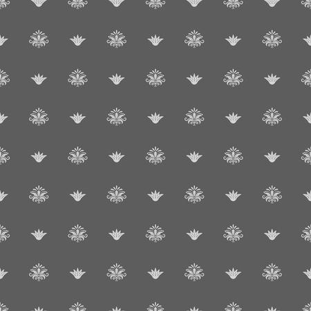 gorgeous: Seamless vintage royal pattern. Background retro, texture decor, illustration