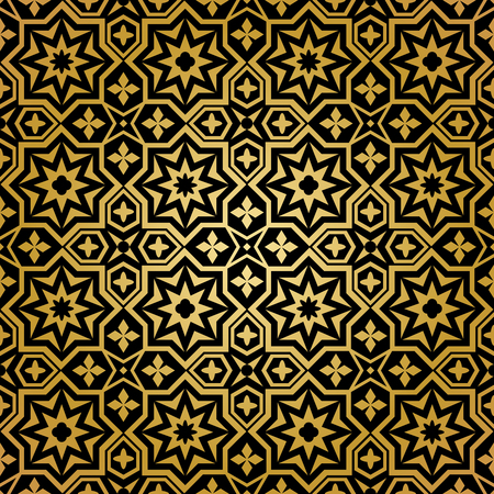 islamic: Muslim seamless pattern. Background ornament, islamic abstract design,  decoration ornamental, illustration