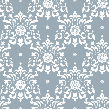 regal: Baroque background. Seamless decorative backdrop, ornament art decoration illustration
