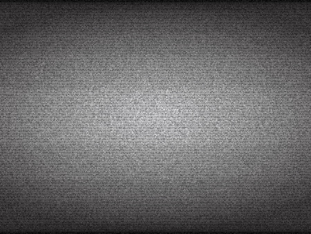 flickering: No signal TV screen. Grainy noise vector background. Broadcast analog, blank snow, channel display illustration