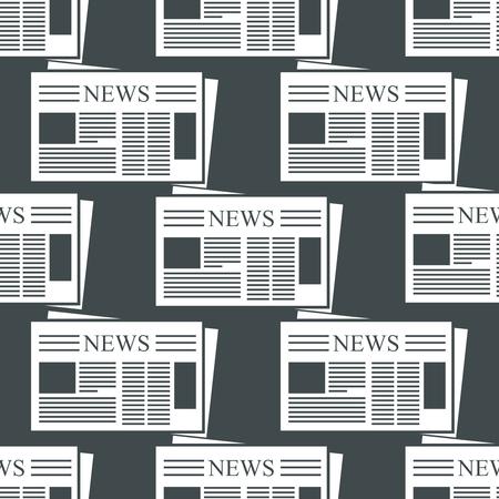 periodicos: Fondo del periódico. Modelo con los iconos para los periódicos noticias y blogs