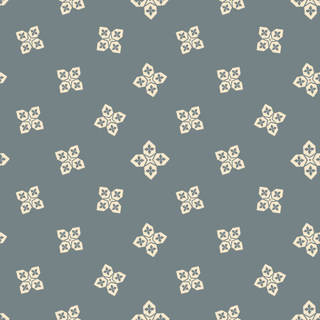 east: Islamic seamless pattern with arabic stars vector background