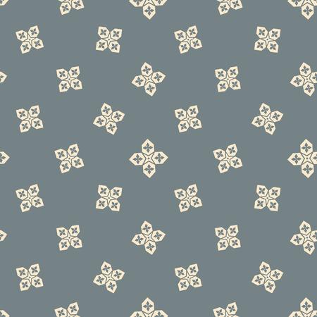 Islamitische naadloze patroon met Arabische sterren vector achtergrond Stock Illustratie