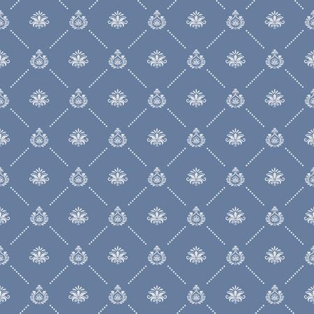 royal wedding: Ornamental royal wedding seamless background. Endless pattern, texture  decorative, vector illustration Illustration
