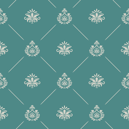 the royal: Wallpaper in royal baroque style. Background seamless royal baroque endless pattern, royal baroque decor backdrop, renaissance damask vector pattern