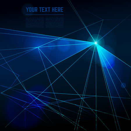 Abstract laser lights vector background. Ray effect, beam energy, technology neon futuristic for disco illustration 向量圖像