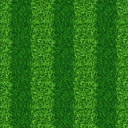 grass field: Striped green grass field seamless vector. Grass nature, grass field pattern, seamless grass meadow illustration Illustration