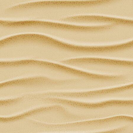 sand: Top view seamless sea sand. Vector ocean beach background