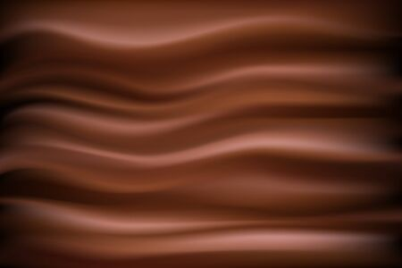 contemporary taste: Abstract chocolate background . Illustration chocolate backdrop wavy Illustration