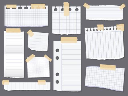 Documentos de la nota de línea.