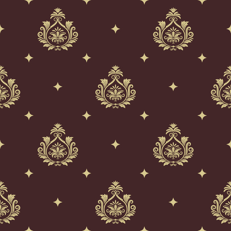 vintage element: Vintage pattern seamless baroque with element