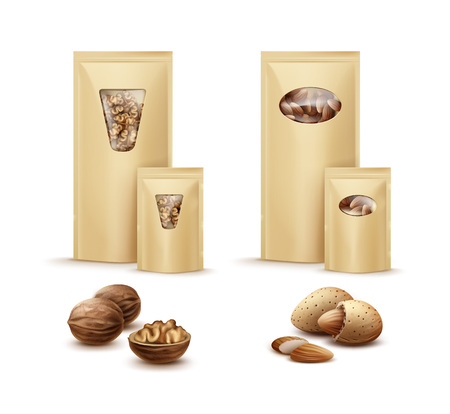 Bags with nuts