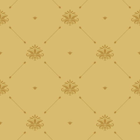 aristocratic: Aristocratic baroque wallpaper seamless
