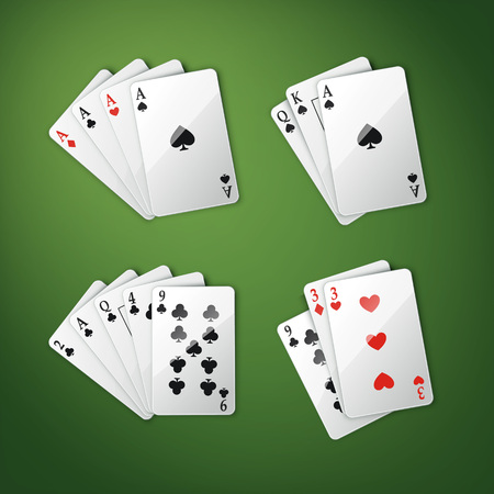 Different cards set