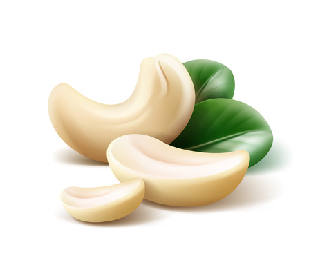 Handful of cashew nuts