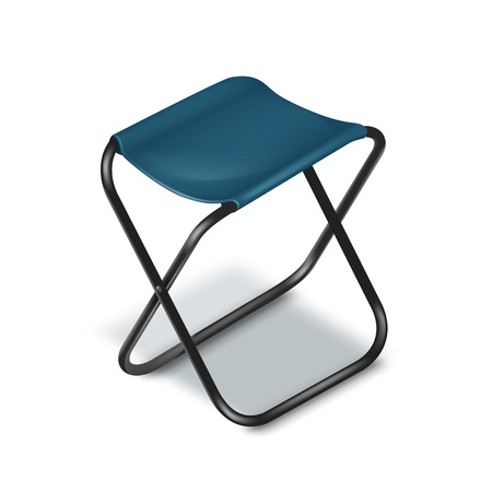 stool: Picnic folding chair
