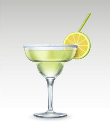 sec: Vector Margarita cocktail Illustration