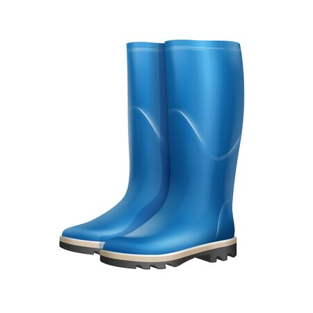 Pair of rubber boots