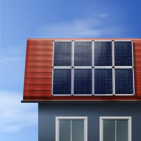 Pannelli solari portatili Archivio Fotografico - 80110733