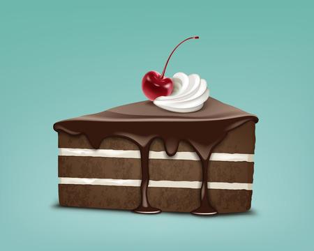Stuk van taart