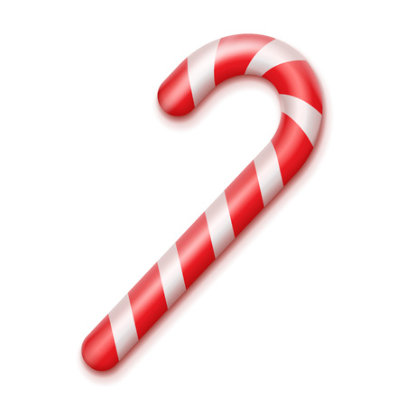 confection: Xmas candy cane Illustration