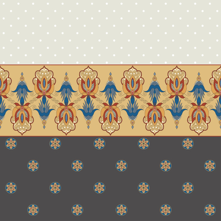 ample: Abstract background. Two simple background and border. Oriental pattern and decorative items. Ample opportunities for use. Easily edit the colors.